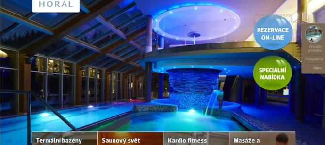 Wellness na Valašku na hotelu Horal
