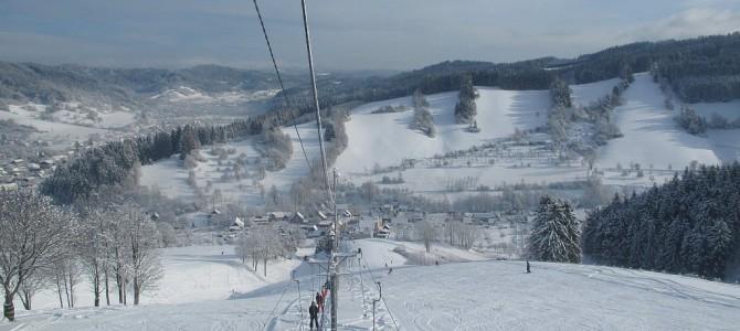 Zimní dovolená a lyžování na vlecích Vranča