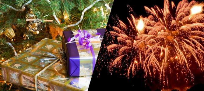 Vánoce a Silvestr 2015 na chalupě Vranečka